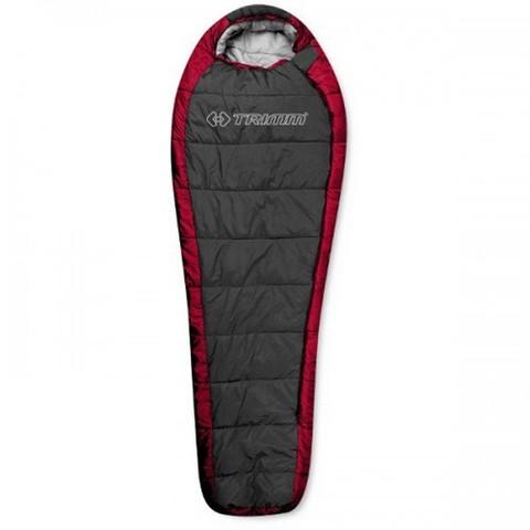 Спальный мешок Trimm HIGHLANDER, 195 L (красный, синий)