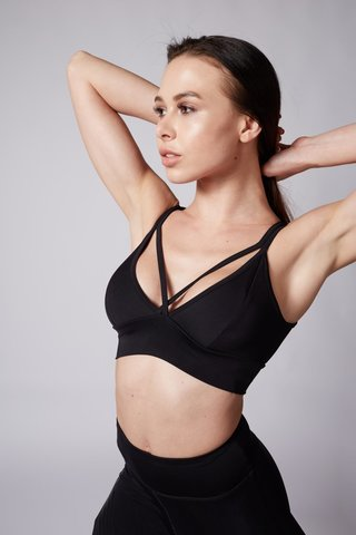 Топ Light Bra Black