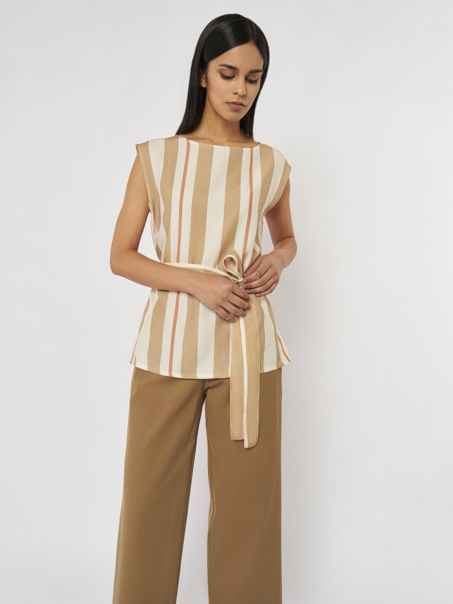 Блуза Fiona с поясом
