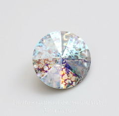 1122 Rivoli Ювелирные стразы Сваровски Crystal White Patina (SS39) 8,16-8,41 мм