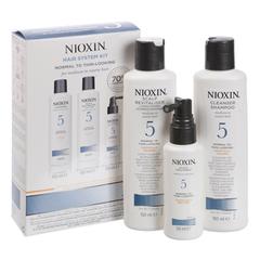 NIOXIN набор (система 5) 150мл+150мл.+50мл.