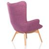 Кресло Contour розовое