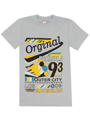 1180-10 футболка детская, серая