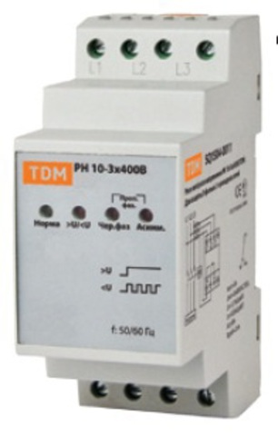 РН 02-3х400В TDM