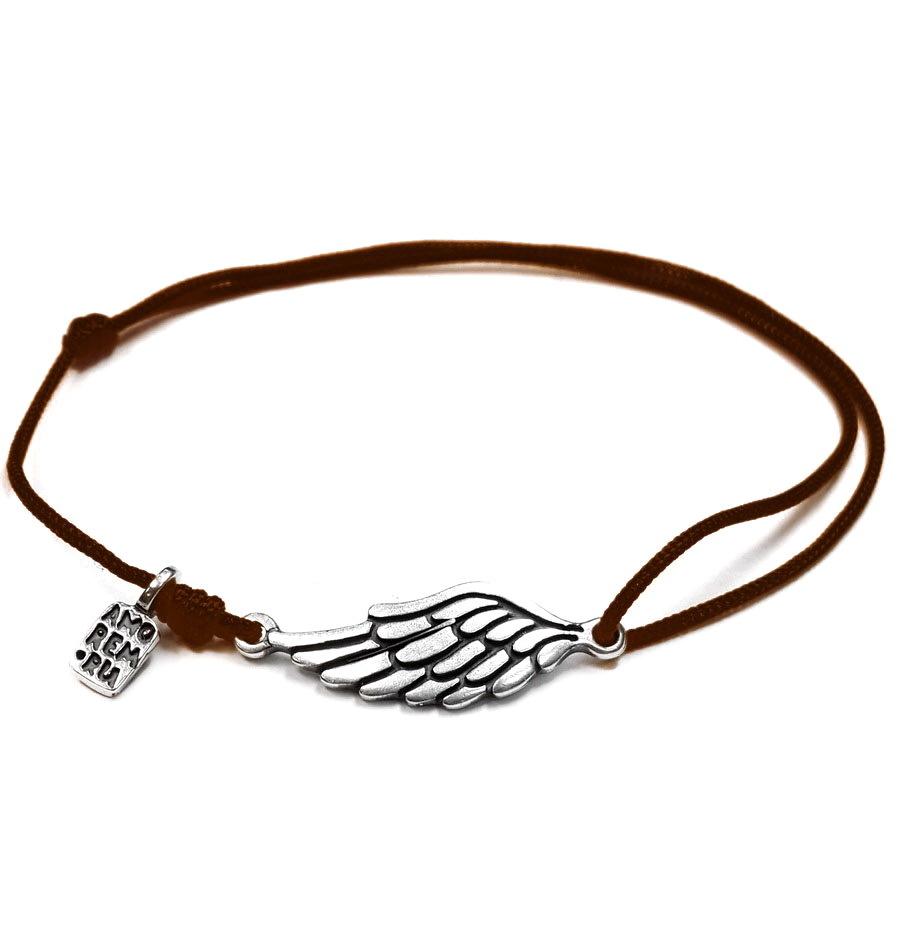Wing Bracelet, sterling silver