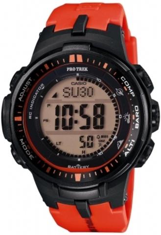 Купить Мужские часы CASIO PRO TREK PRW-3000-4ER по доступной цене