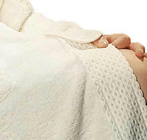 Набор полотенец 2 шт Timas Aurora белый