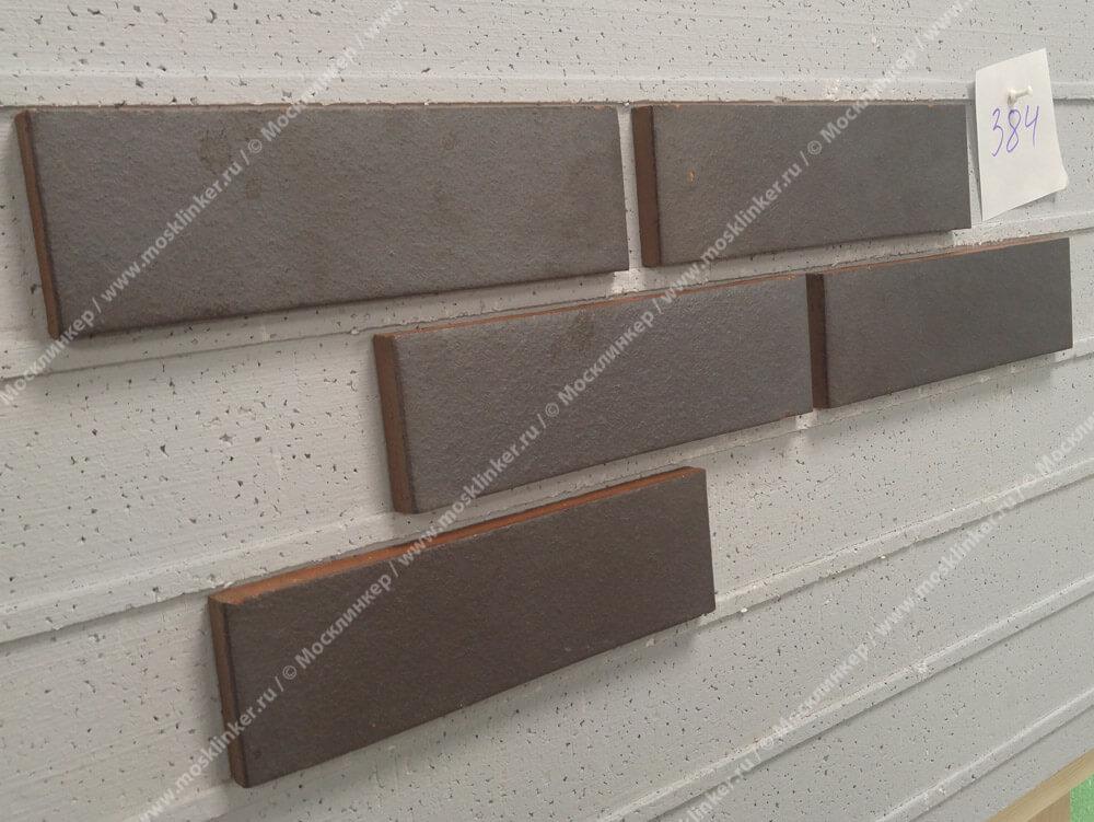 Feldhaus Klinker - R384NF14, Galena Ferrum Liso, 240x14x71 - Клинкерная плитка для фасада и внутренней отделки