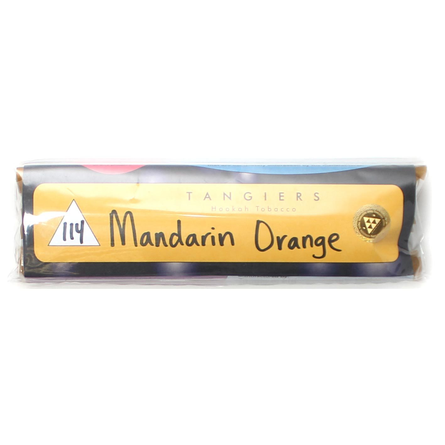 Табак для кальяна Tangiers Noir (желтый) 114 Mandarin Orange