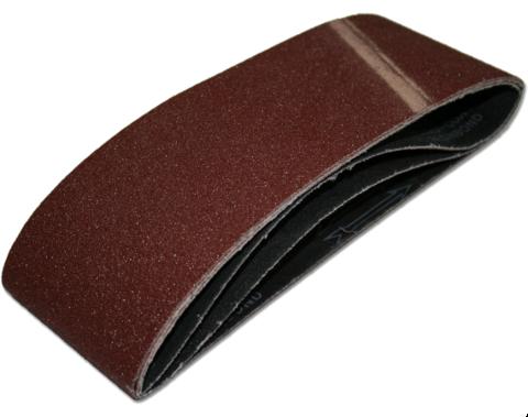 Лента шлифовальная ПРАКТИКА   75 х 533 мм P150 (3шт.) картонный подвес (031-471)