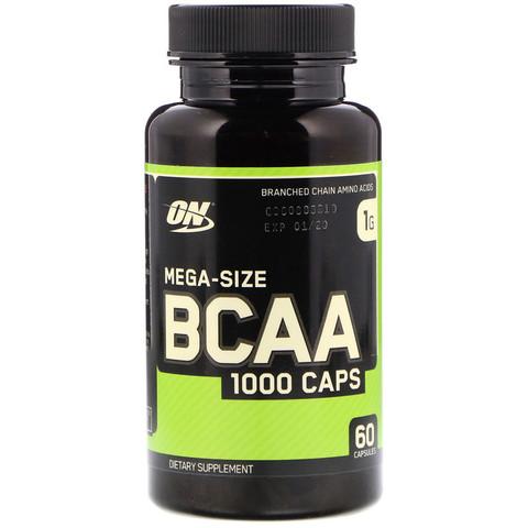 Optimum Nutrition Аминокислотный комплекс BCAA 1000 60 капсул