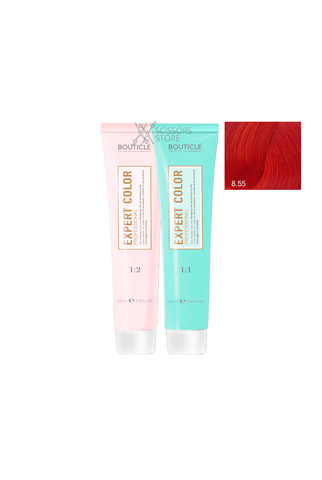 Expert Color Hair Color Cream 8/55 светло-русый интенсивный красный 100 мл