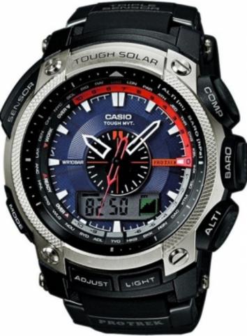 Купить Мужские часы CASIO PRO TREK PRW-5000-1ER по доступной цене