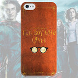 Чехол для iPhone 7+/7/6s+/6s/6+/6/5/5s/5с/4/4s THE BOY WHO LIVED