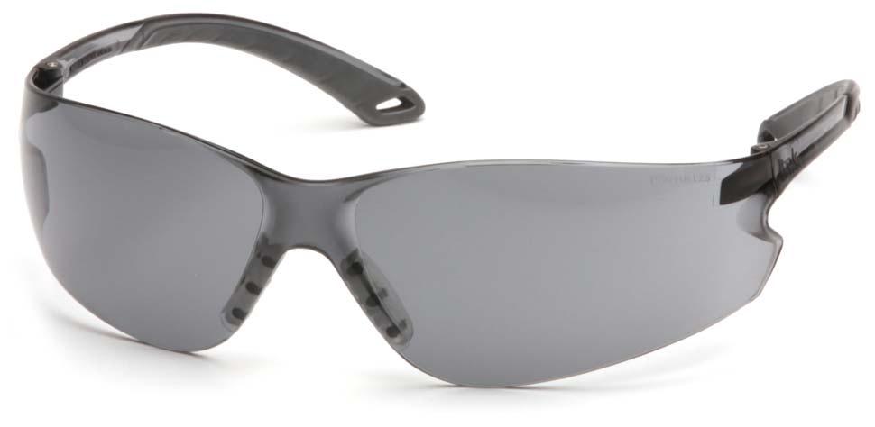 Очки баллистические стрелковые Pyramex iTEK S5820S серые 23%