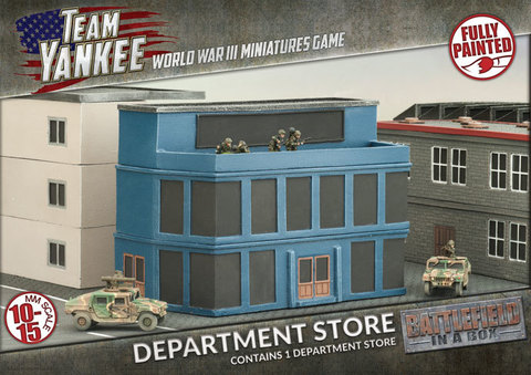 BATTLEFIELD IN A BOX: Department Store (x1)
