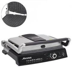 Гриль электрический 2200 Вт АКСИНЬЯ КС-5210 серебристый с черным