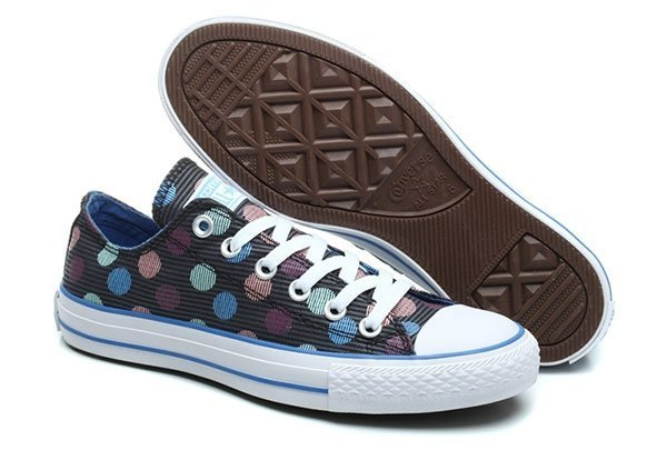 CONVERSE CHUCK TAYLOR ALL STAR LOW MULTI COLOR POLKA (010)