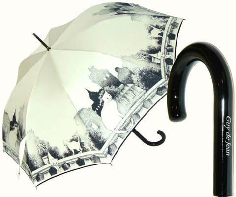Купить онлайн Зонт-трость Guy de Jean CATS в магазине Зонтофф.