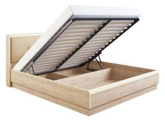 Кровать «Оливия» с мягкой спинкой с подъемным механизмом 1,8 м