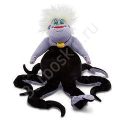 Мягкая игрушка Подводная ведьма Урсула (Ursula) - Русалочка (Mermaid), Disney