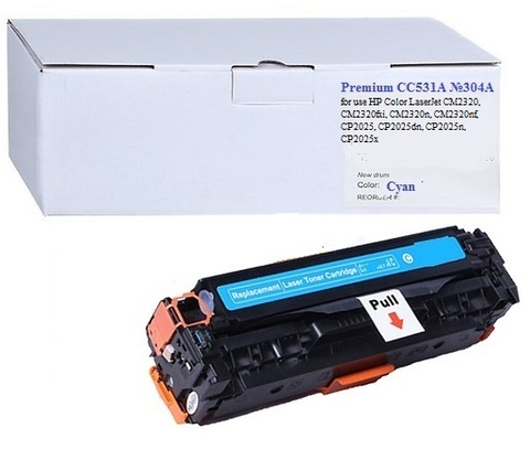 Картридж Premium CC531A №304A