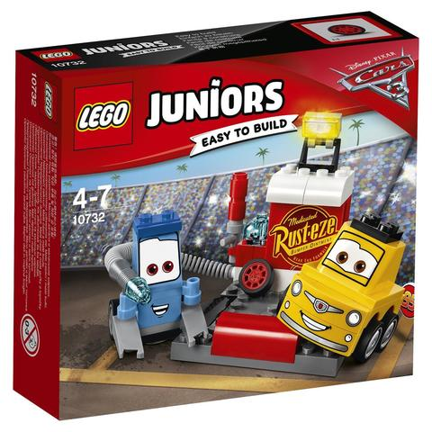 LEGO Juniors: Пит-стоп Гвидо и Луиджи 10732 — Guido and Luigi's Pit Stop — Лего Джуниорс Подростки
