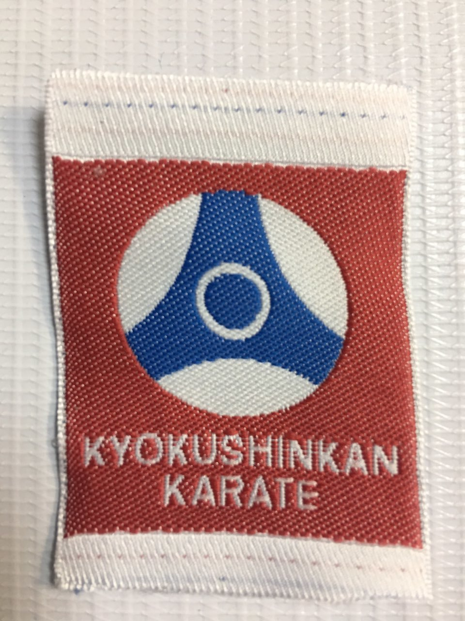 Аксессуары (брелки, шевроны, нашивки) Нашивка KYOKUSHIN KAN кан1.jpg