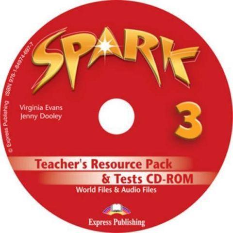 Spark 3. Teacher's resource pack & tests Cd-rom (international/monstertrackers). CD-ROM для учителя к тестовым заданиям с дополнительными материалами