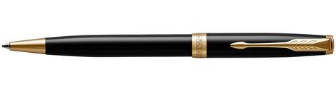 Шариковая ручка Parker Sonnet Lacquer Deep Black GT