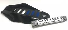 Чехол сиденья Yamaha YZF 250 450 06-09 Бело-Синие вставки
