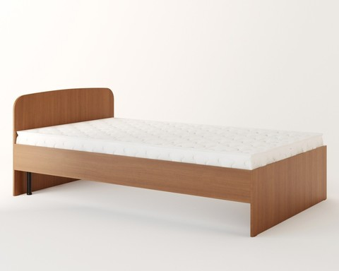 Кровать АНДРИЯ-02 бук тёмный