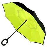 Зонт наоборот Желтый