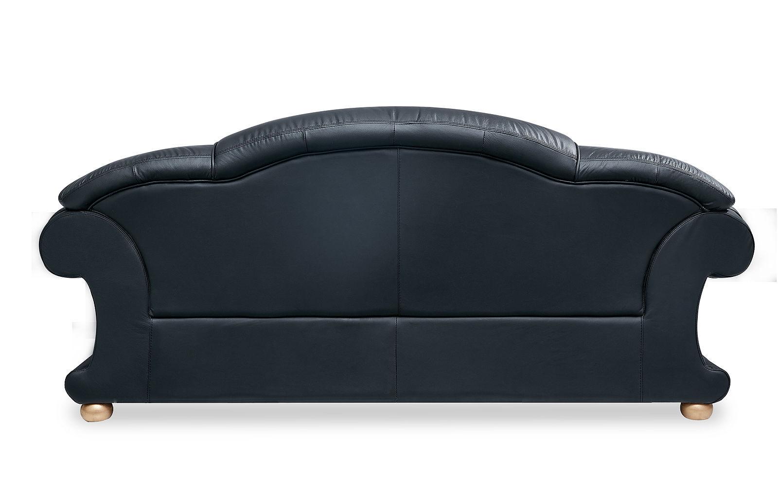 Диван ESF Versace 3-х местный черный