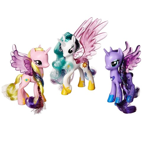 My Little Pony Парад Принцесс набор из трёх пони