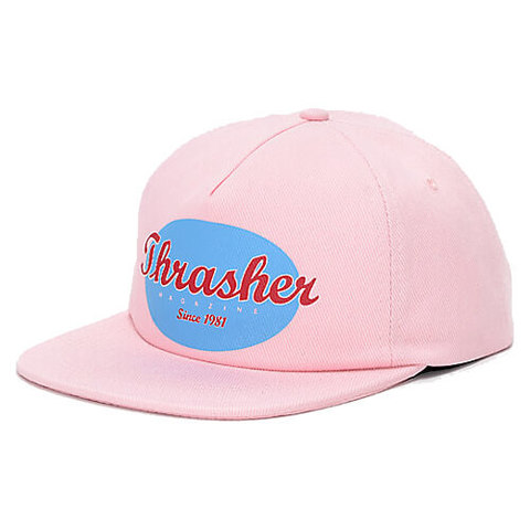 Кепка THRASHER Oval Snapback (Pink)