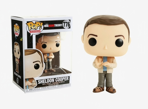 Фигурка Funko Pop! TV: The Big Bang Theory - Sheldon Cooper