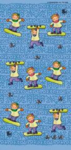 Многофункциональная бандана-труба детская Buff Les 3 Bessones Triboard