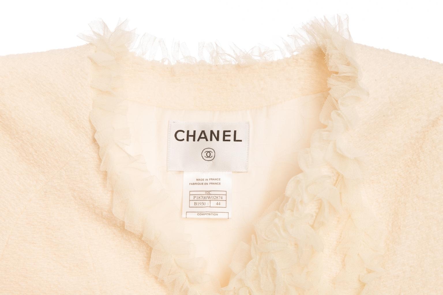 Роскошный жакет от Chanel, 44 размер.