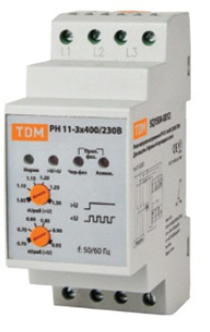 РН 11-3х400/230В TDM