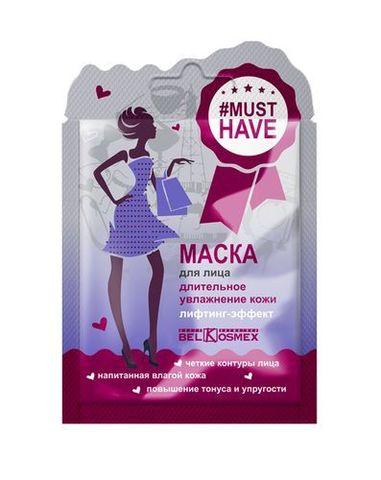 BelKosmex Musthave Маска для лица длительное увлажнение кожи лифтинг-эффект 10г