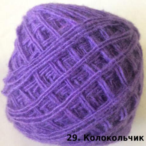 Пряжа Карачаевская Колокольчик 29, фото