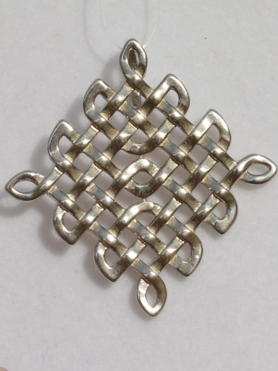 Амулет Защиты (серебряный кулон-оберег)
