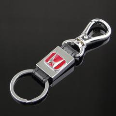 Брелок металлический для ключей с логотипом автомобиля Хонда (Honda)