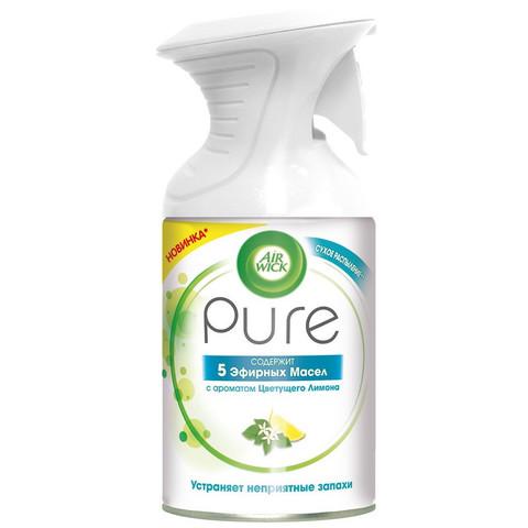 Освежитель воздуха Air Wick Pure 5 Эфирн Масел с аром Цветущ Лимона 250 мл