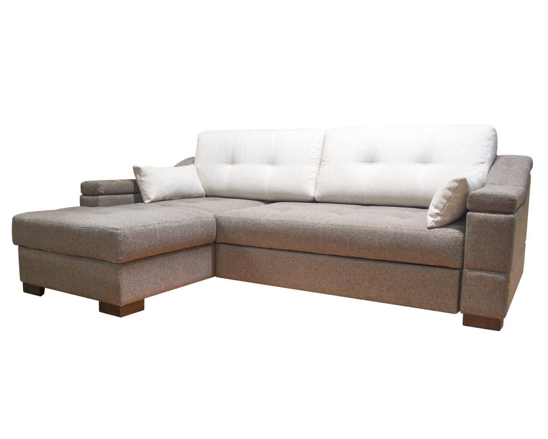 Угловой диван Макс П5 1я2д, обивка рогожка + дополнительные подушки