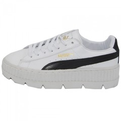 Женские Puma by Rihanna Cleated Creeper Suede White/Black