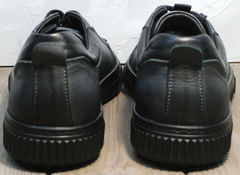 Черные кеды с черной подошвой мужские Komcero 9K9154-734 Black-Grey