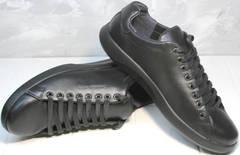 Кроссовки с черной подошвой мужские GS Design 5773 Black
