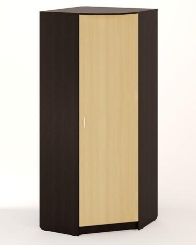 Шкаф угловой ШК-07 венге / дуб беленый